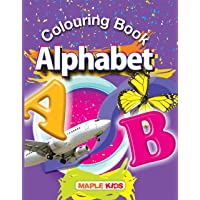 Colouring Book - Alphabet - Crayons Colour
