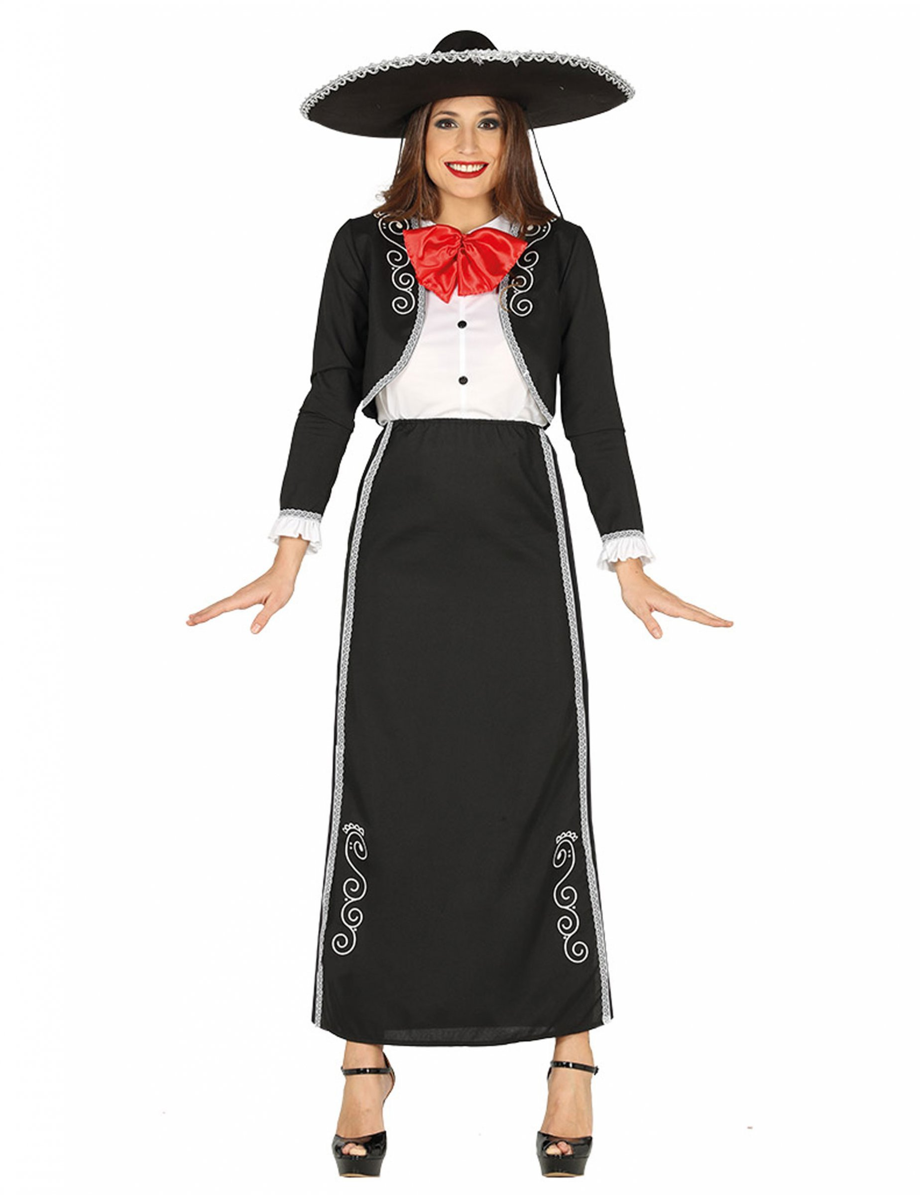 Disfraz de Mexicana Bordados para mujer