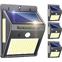 Solarlampen für Außen mit Bewegungsmelder,【Hohe Qualität 216LED-1000Lumen】Solarleuchte Aussen 2200mAh Solar Wasserdichte…