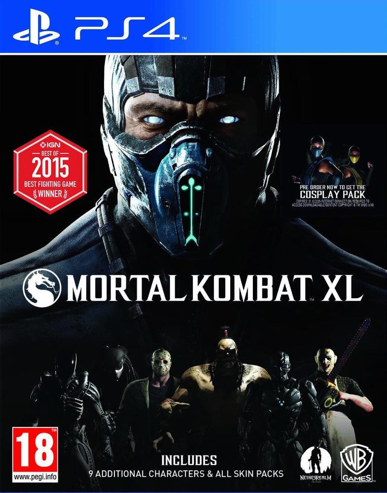 Image result for mortal kombat xl ps4