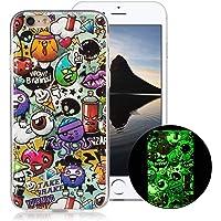OnlyCase Cover per iPhone 6 / iPhone 6S, Premium Elegante Effetto Luminoso TPU Morbida Silicone Gel Elegante Custodia…