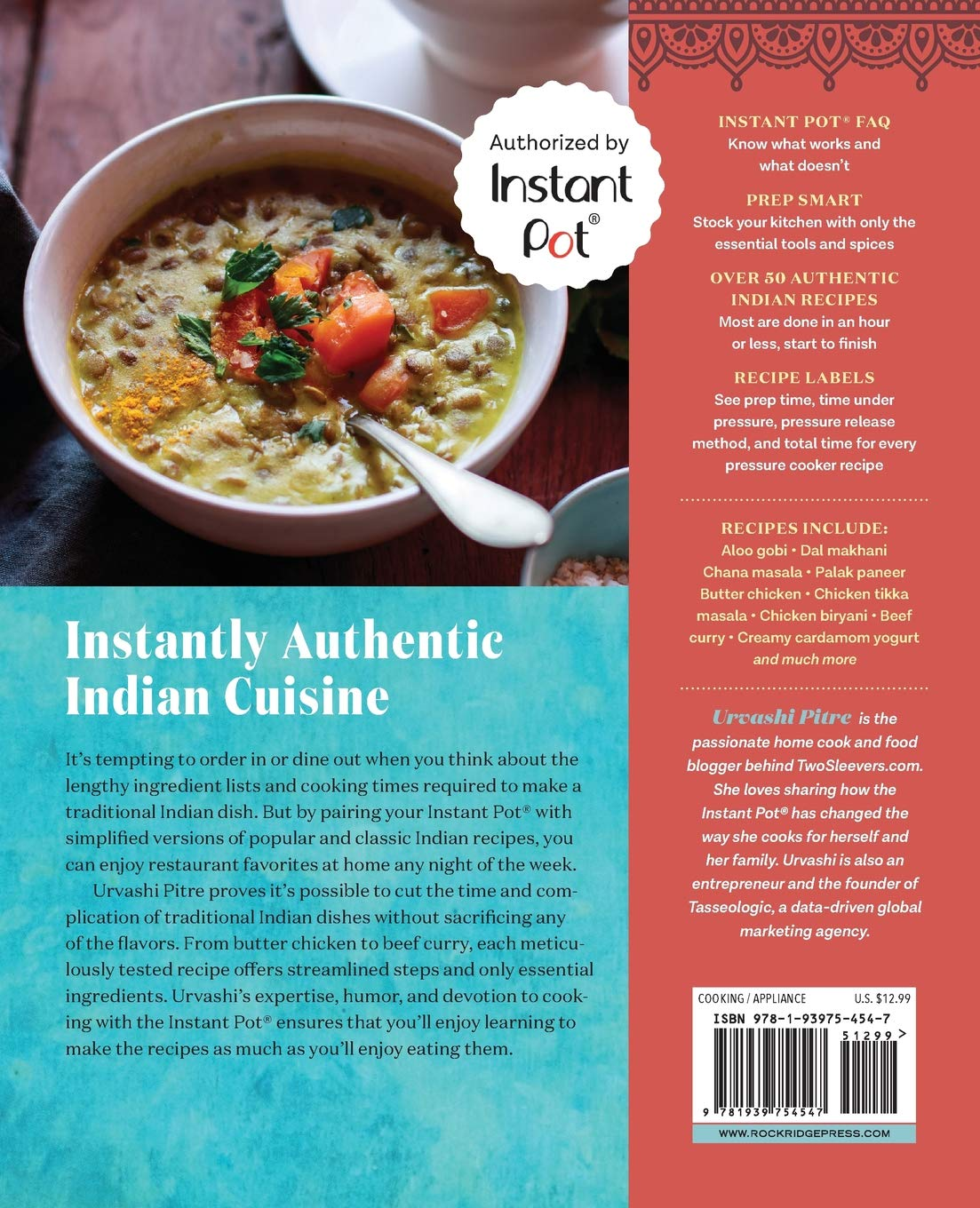 Indian Instant Pot® Cookbook: Traditional Indian Dishes Made Easy and Fast 2