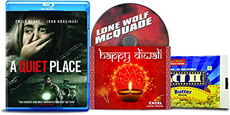 A Quiet Place + Lone Wolf McQuade - 2 English Movies (2 Blu-ray bundle offer)