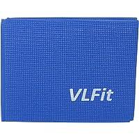 VLFit Tappetino Yoga Pieghevole Antiscivolo - Tappeto Sottile 6mm in Morbido Memory Foam per Ginnastica Pilates Esercizi…