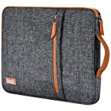 """LONMEN 10.1 Inch Laptop Sleeve Case Water-resistant Tablet Protective Carrying Handle Bag for 10.5"""" iPad Pro/9.7"""" iPad Air 2/"""