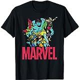 Marvel Classic Avengers Color Trip T-Shirt