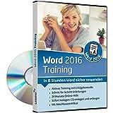 Word 2016 Training - In 8 Stunden Word sicher anwenden   Einsteiger und Auffrischer lernen mit diesem Kurs Schritt für Schritt wichtige Grundlagen von Word   CD inkl. Online-Kurs [1 Nutzer-Lizenz]
