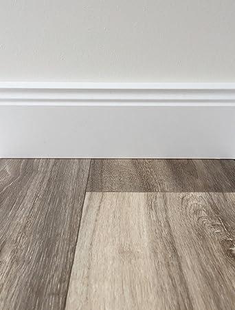 Fantastisch PVC-Bodenbelag Holzoptik in Grau-Braun | Vinyl-Fußbodenbelag 250  ZJ16