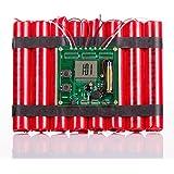 Deluxe Dynamit Wecker LED Display Dynamite Alarm Clock