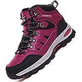Rokiemen Scarpe da Trekking Uomo Donna Impermeabile Alte Scarponi da Montagna Scarpe da Escursionismo Sportive Sneakers