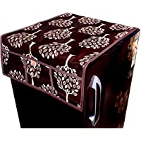 KANUSHI Industries Designer Fridge Top Cover (Brown)