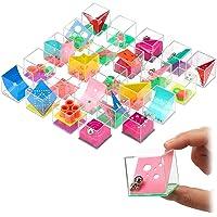 INTVN Lot de 24 Jeux de Patience pour Enfants, Mini Casse-Têtes Casse Tête Cube à Billes Jouets de Labyrinthe 3D, Jeux…