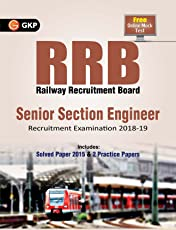 RRB Senior Section Engineer Recruitment Examination 2018-2019