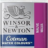 Winsor & Newton 301696 Cotman Colori Acquerello, Viridian, Mauve, 1.9x1.6x1.1 cm