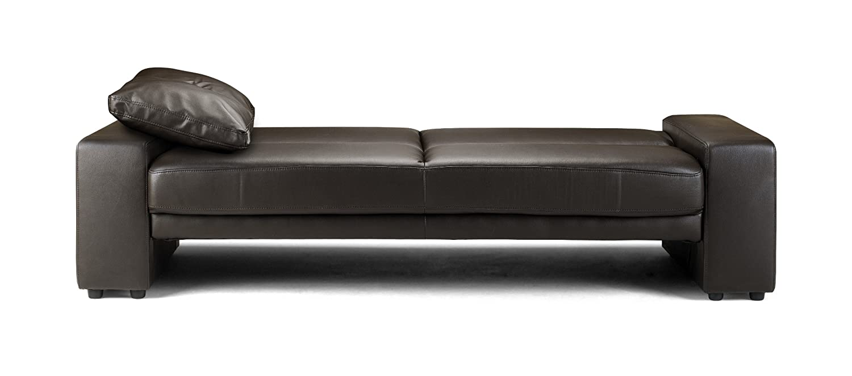 Julian Bowen Faux Leather Supra Sofa, Brown: Amazon.co.uk: Kitchen U0026 Home