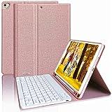 Tastiera per iPad 8a Gen 2020/10.2 7a Generazione 2019/Air 3 10.5 con Custodia, Tastiera Italiana Bluetooth per iPad 10.5 201