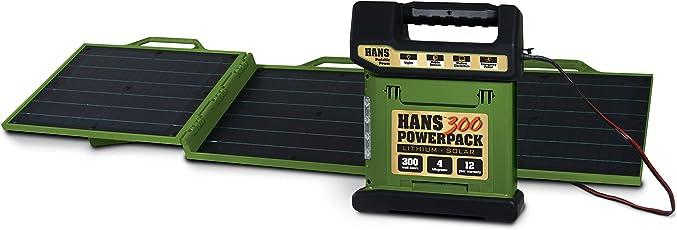 HANS Portable Solar Briefcase 60W (Olive Green)