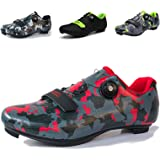 Mens Cycling Shoes,Road Bike Cycling Shoes for Men, Breathable Non-Slip Road and Mountain Bike Shoes,Bike Shoes with SPD an