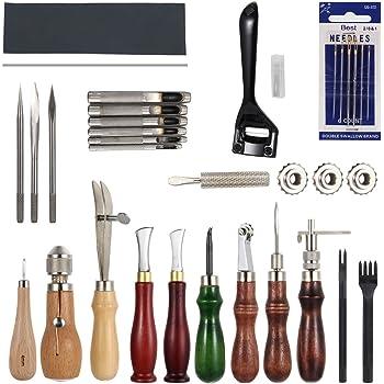 outils de Couture Cuir set bricolage fai da te Outillage Artisanat du Cuir  à Coudre Couture scultura de Travail ... fb4132e6dbf