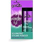 Got2b - Polvos volumen POWDER'ful – Polvos para levantar la raíz – Textura matificante – Lleva tu volumen a nuevas dimensione