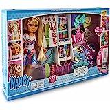 Nancy - Espejo 1001 Peinados, muñeca con un Armario Lleno Accesorios para Jugar a Hacer Peinados Divertidos maquillar, Juguet