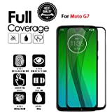 JGD PRODUCTS 6D/11D full edge to edge full glue screen protector tempered glass for Moto G7