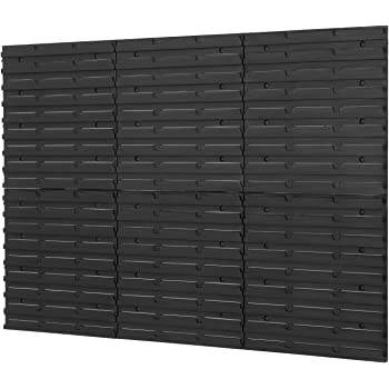 NEW Steel Louvre Wall Panel For Plastic Parts Storage Bins 438 x 457mm Free P/&P