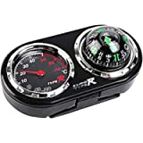 ZSooner 2 in1 Guide Ball Car Vehicles Auto Navigation Compass Thermometer