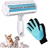 VIMOV Rodillo Removedor de Pelo para Mascotas Reutilizable, Cepillo de Limpieza para Perros, Quita Pelos de Gato & Cepillo pa
