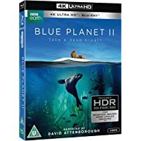 Blue Planet II [Imported Region Free 4K UHD + Blu-ray Combo]( Narrated by Sir David Attenborough)