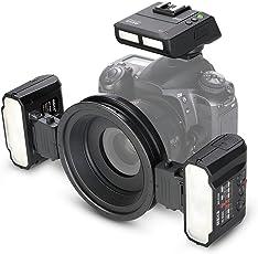 Meike MK-MT24 macro Twin Lite flash per fotocamere digitali Nikon