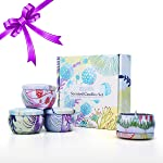Walmeck Tooarts| Scented Candles 100% Natural Soy Wax Long Last Clean Burning Exquisite Gift Box Package Charming...