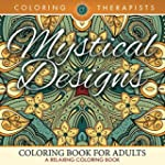 Mystical Designs Coloring Book For Ad...