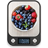 RoyalPolar Food Scale, Multifunction Digital Kitchen Scale High Accuracy Electronic Food Weight with Large LCD Display, Stain