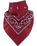 Harrys-Collection Bandana Bindetuch 100% Baumwolle (1 er 6 er oder 12 er Pack)