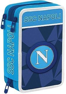 ssc napoli Diario Pocket 12M Napoli 11 5 cm x 15 Blu Azzurro 16 cm 9 cm Set per la Scuola