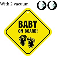 Billy Bum Baby On Board Background Baby Journey Windows Sticker (Foot Print)