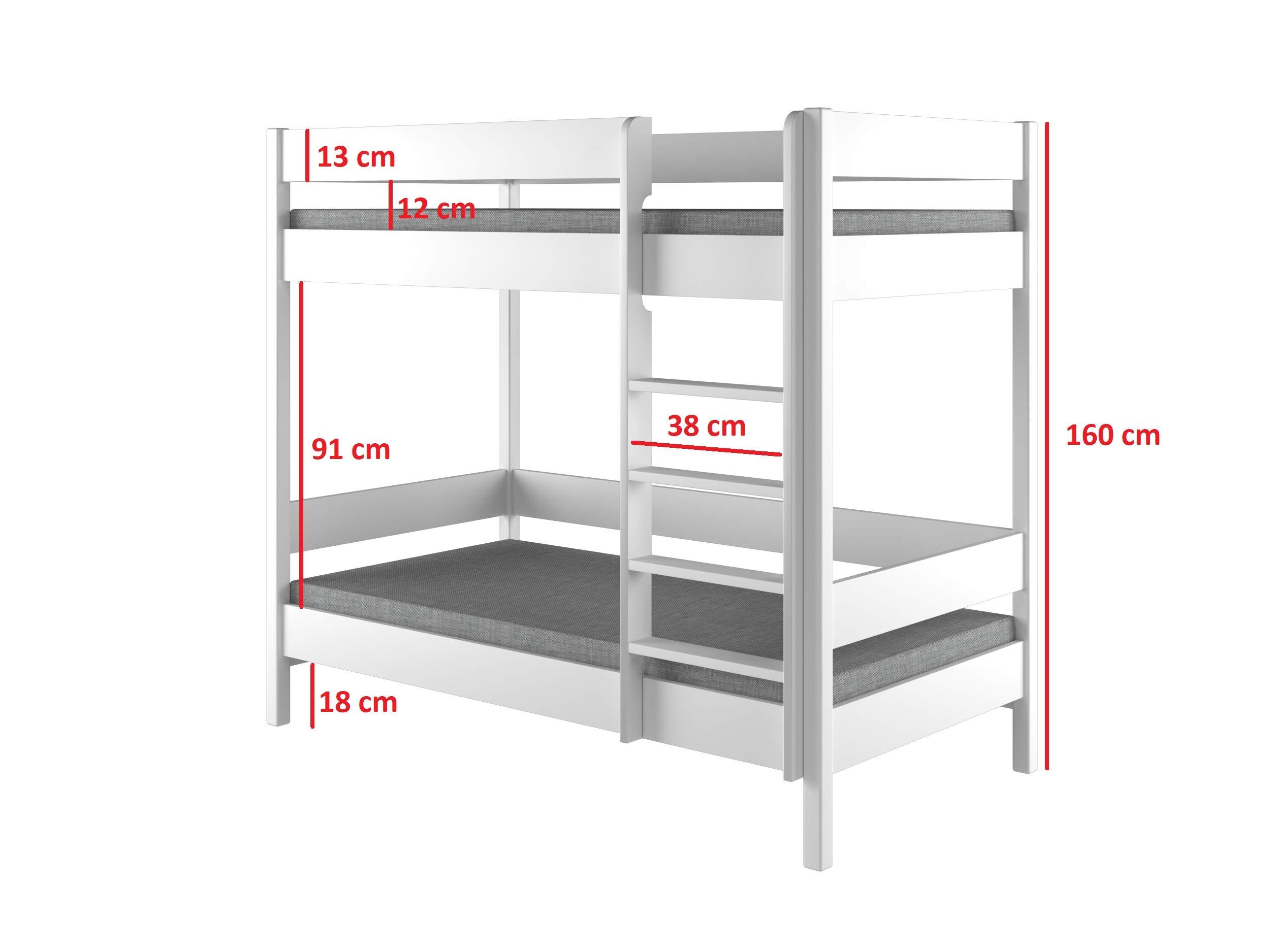Letto A Castello Struttura.Dino Bunk Bed Struttura Per Letto A Castello Per Bambini In