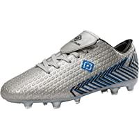 DREAM PAIRS Men's Mega-2 Firm Ground Football Boots Soccer Cleats Shoes