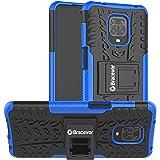 Bracevor Hybrid Back Cover Kickstand Case for Xiaomi Mi Redmi Note 9 Pro | Redmi Note 9 Pro Max | Poco M2 Pro - Blue | Rugged