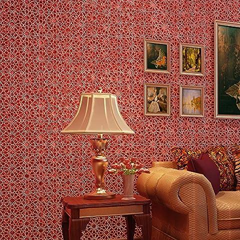 sbwylt-dimensional fiocchi di neve in carta da parati soggiorno pareti camera da letto sala da pranzo, C, 10 meters *0.53 meters