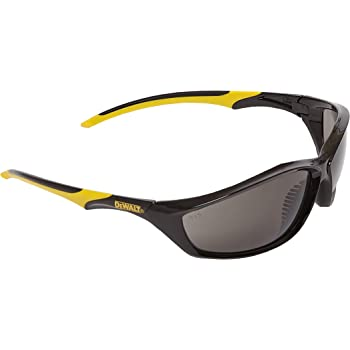 DeWalt Router Smoke Ploycarbon Safety Glasses - Yellow/Smoke, One Size