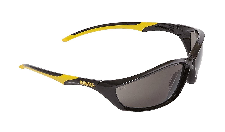 dewalt router. dewalt router smoke ploycarbon safety glasses - yellow/smoke, one size: amazon.co.uk: diy \u0026 tools dewalt