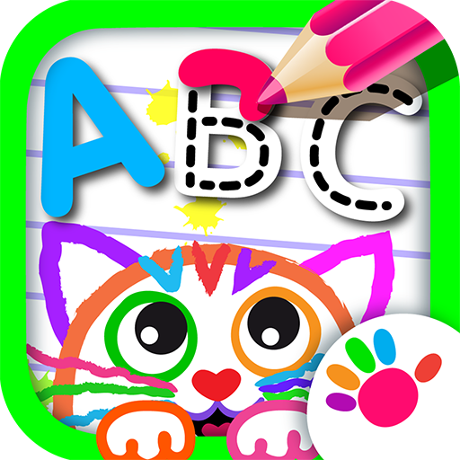 ABC DRAW! Alphabet Learning Educational App for Kids! Learn Letters, How to Paint! Kindergarten Drawing Games FREE! Letter Tracing Toddlers Coloring Game! Girls, Boys, Baby Preschool 2 3 4 5 Year Olds
