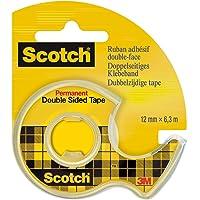 Scotch Devidoir de Ruban Double Face 6.3 m x 12 mm