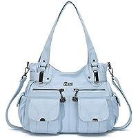 KL928 sacs à main femmes sac à bandoulière PU cuir souple dames sacs à main sac à bandoulière sacs à main pour femmes…