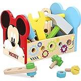 Disney - Maletin herramientas 24 piezas Caja herramientas Juguetes Bricolaje Construccion - Juguetes niños 3 años Juguetes ed