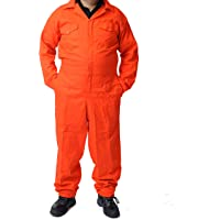 Road Master Men's Poly Cotton Coverall Overalls Painters Suit Decorators Mechanic Workwear