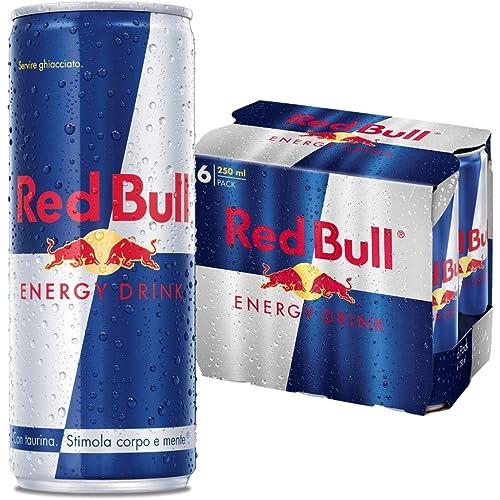 Red Bull energy drink 6 pack (6x250ml)