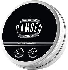 TESTSIEGER 09/18: 'Original' Beard Balm von Camden Barbershop Company - rein natürliche Bartpflege - frischer Duft